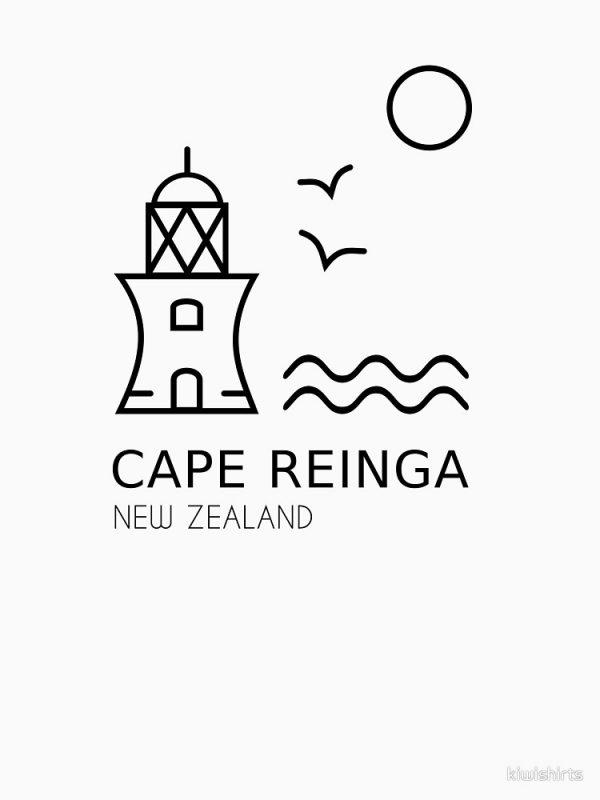 Cape Reinga Digital Design for Shirts