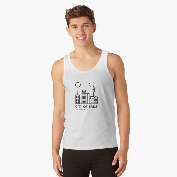 Auckland Tank Top White