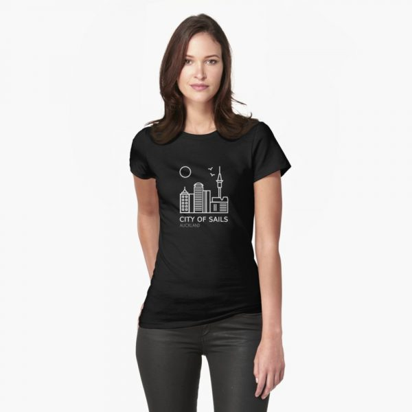 Fitted Shirt Auckland Black