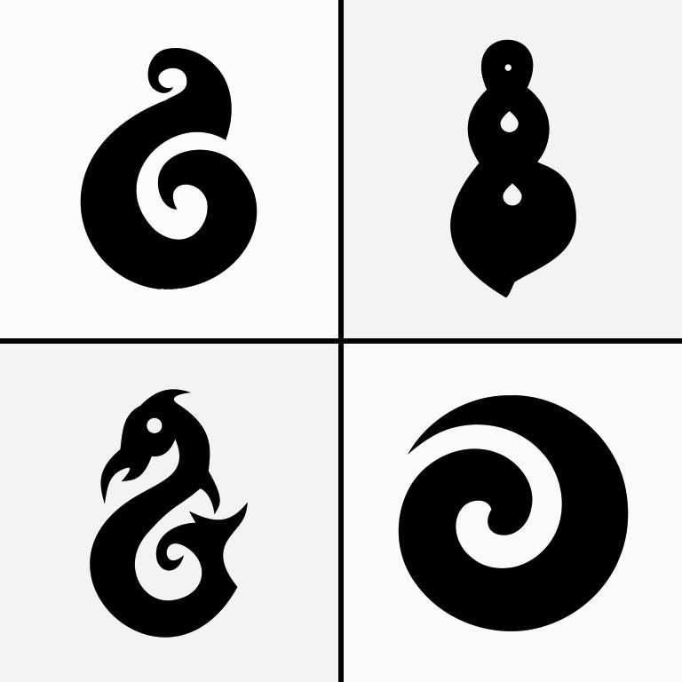 Maori Symbol T-Shirts Design