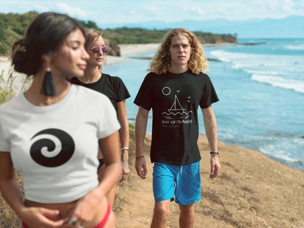 Bay of Islands Black Shirt