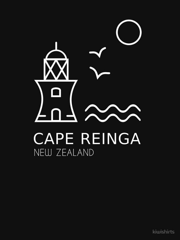 Cape Reinga Black Shirt for Women