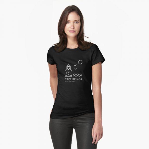 Cape Reinga Black Shirt for Women