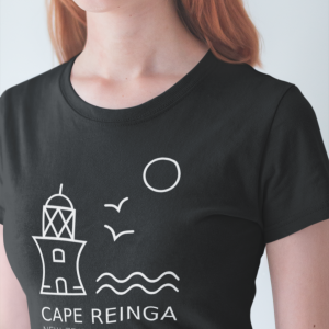 Cape Reinga Shirt Black