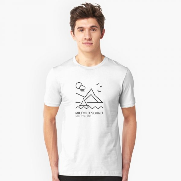 Milford Sound T-Shirt for Men