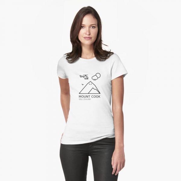 Mount Cook T-Shirt for Women