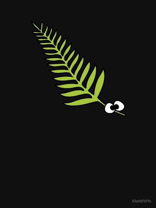 I Love NZ Fern Shirt