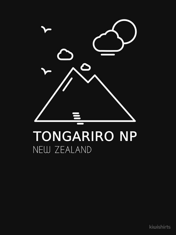 Tongariro Alpine Crossing Design