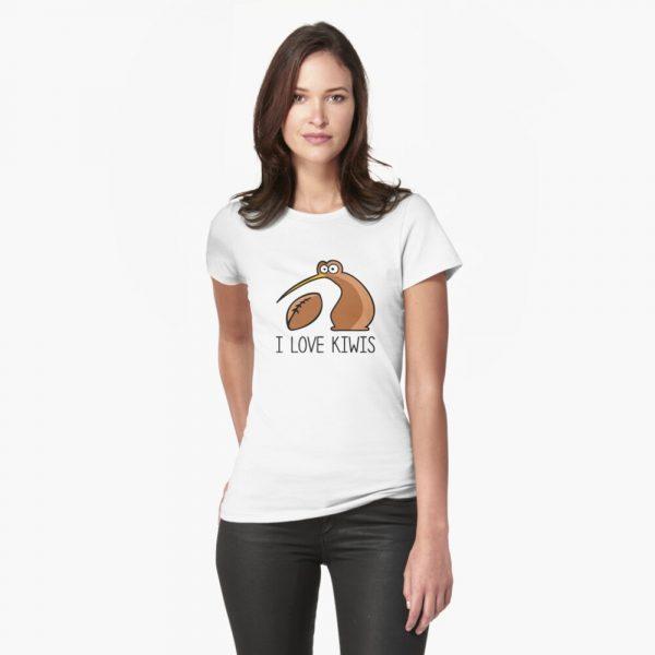 I Love NZ Kiwi Bird T-Shirt
