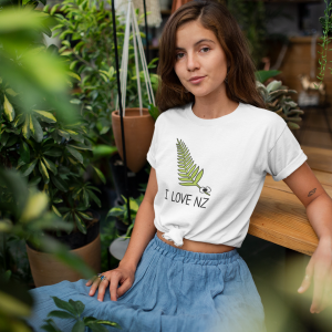 I Love NZ Fern T-Shirt