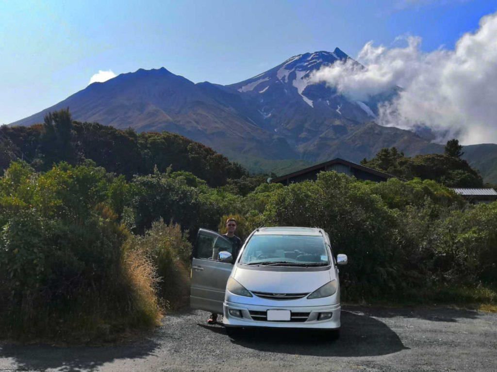 Freedom Camping Mt Taranaki