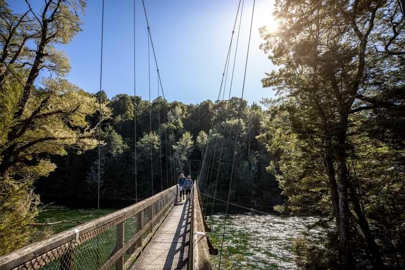 Kepler Track Swing Bridge
