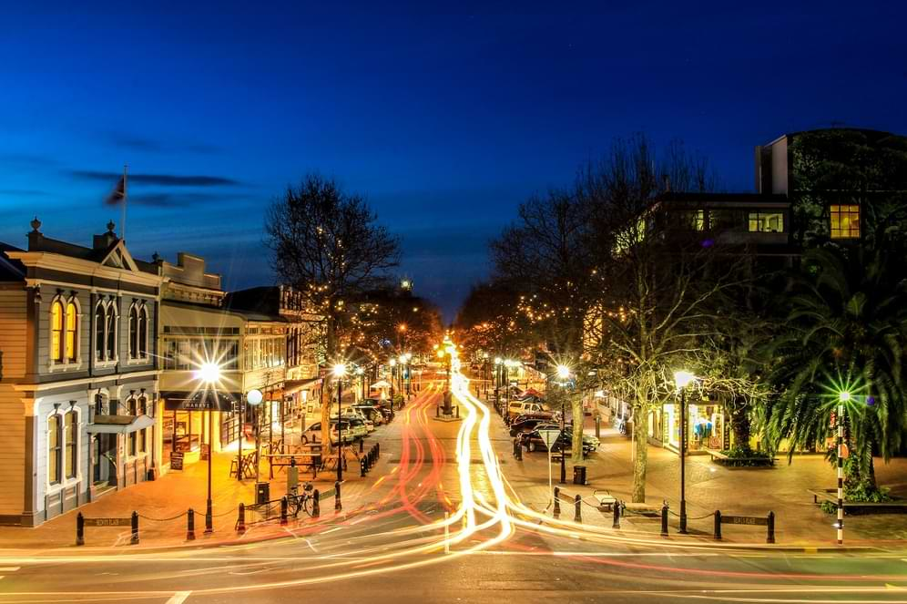 Nelson City by Night