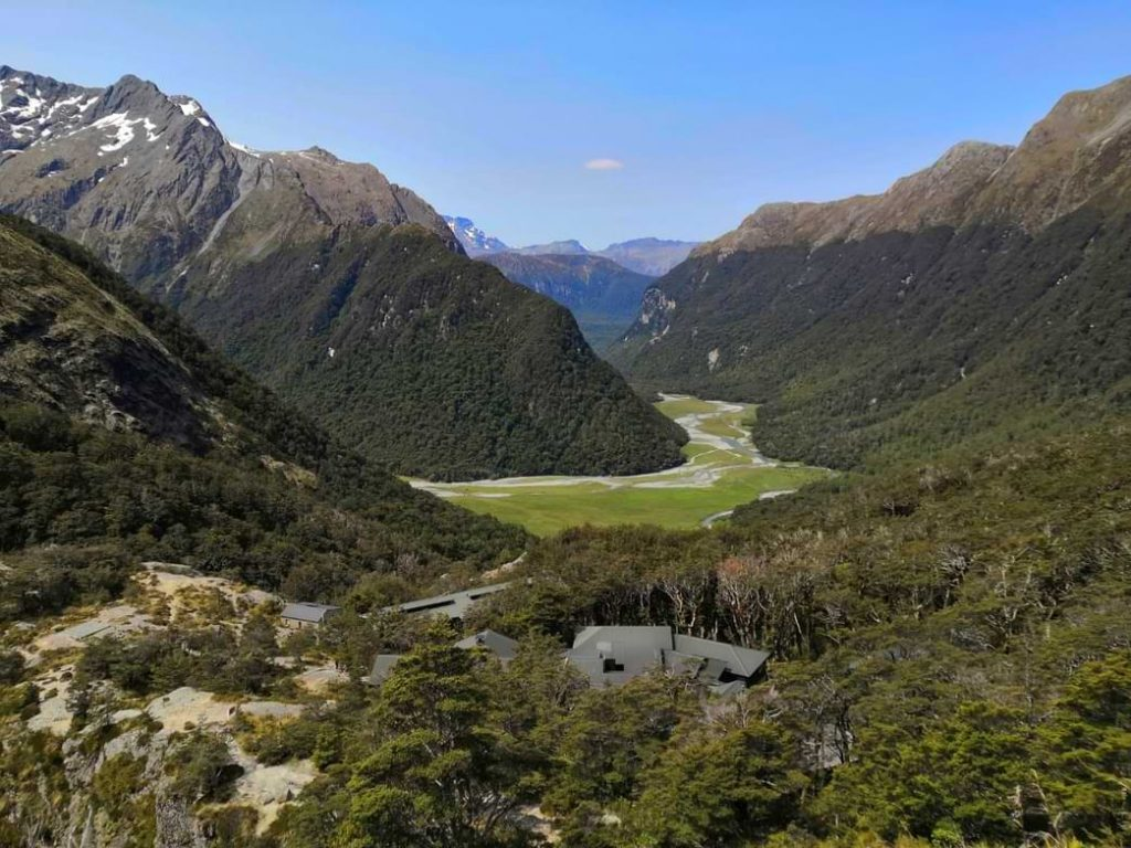 Routeburn Track view from Falls Hut