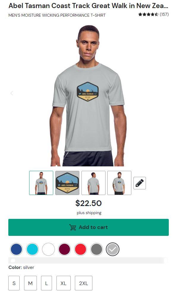 Abel Tasman Coast Track Shirt for Men