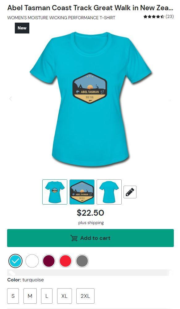 Abel Tasman Coast Track Shirt for Women