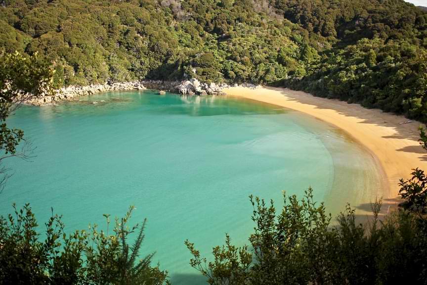 Abel Tasman Coast Track Puketea Bay