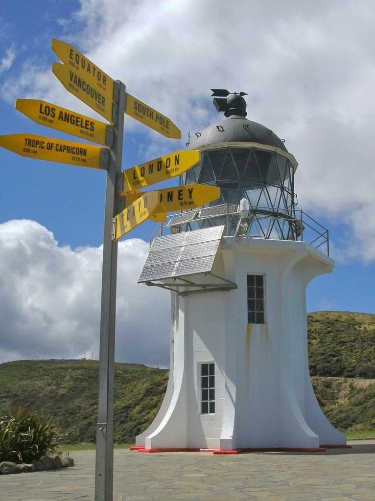Cape Reinga Lighthouse Close-up