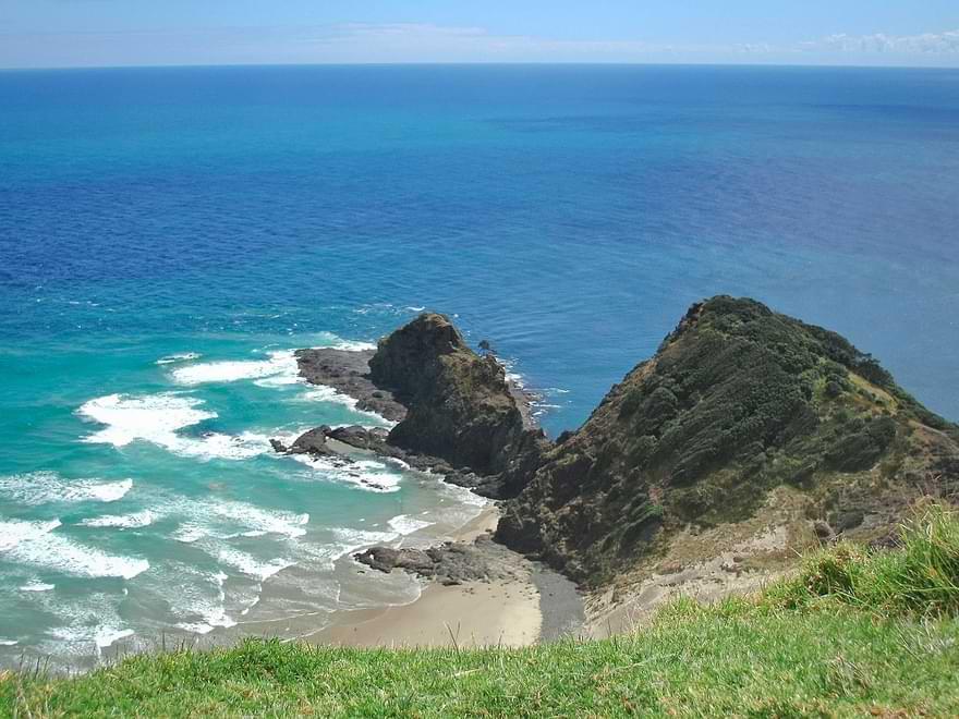 Cape Reinga Oceans Colide