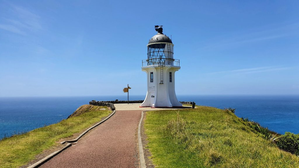 Cape Reinga Walkway to Lighthouse