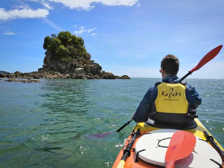 Kayaking in Abel Tasman NP
