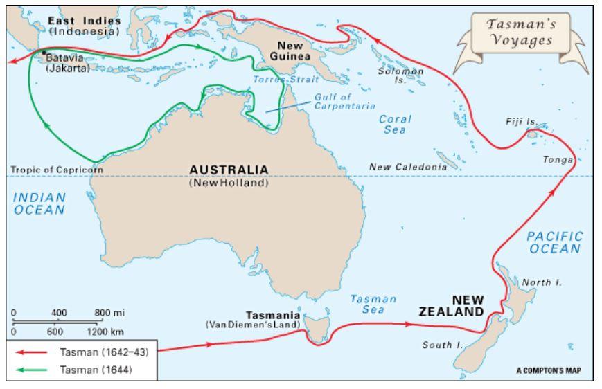 Abel Tasman Voyages