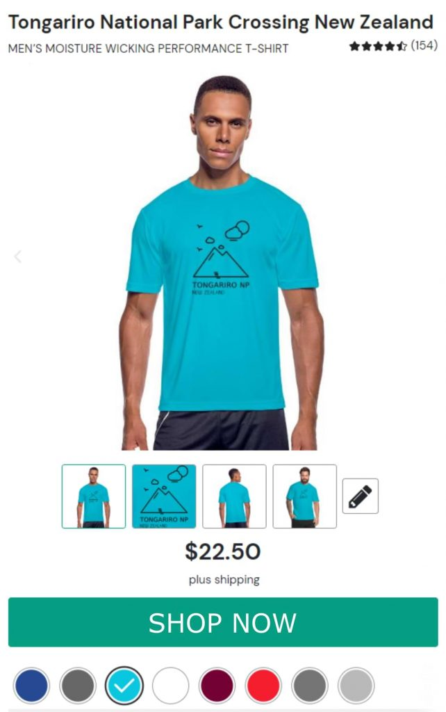 Tongariro Quick Drying Shirt for Men