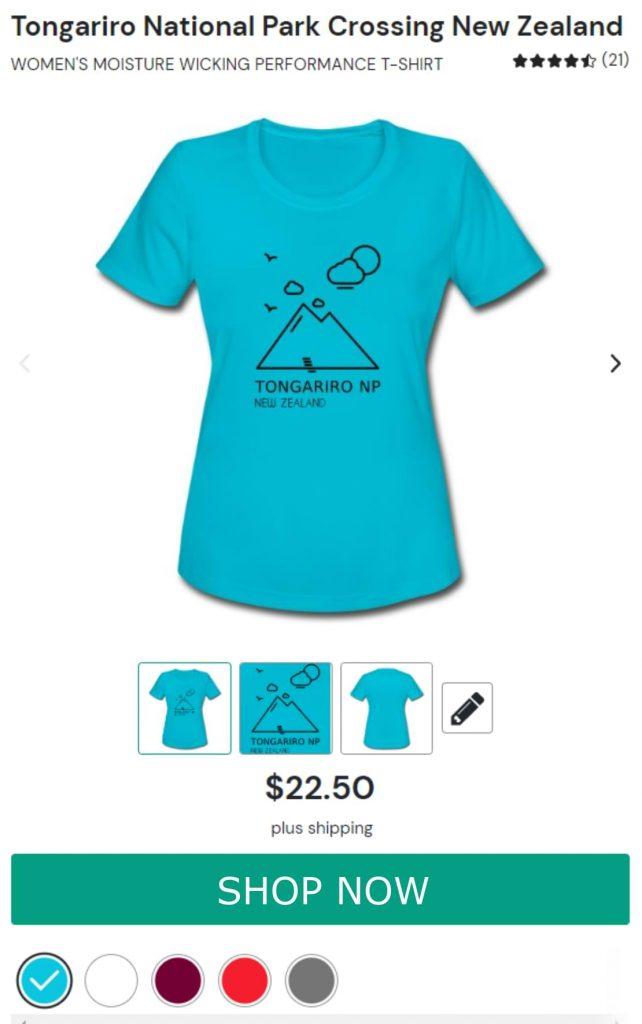 Tongariro Quick Drying Shirt for Women