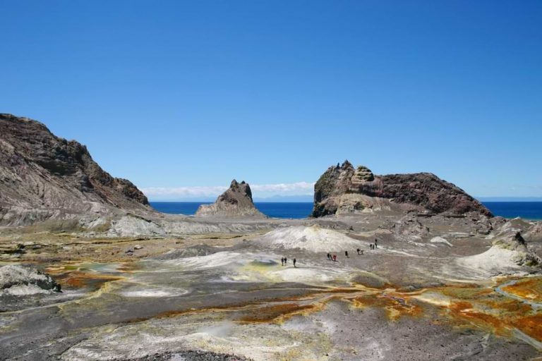 Was New Zealand formed by a volcano?