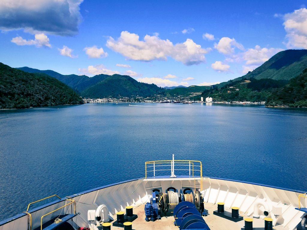 Ferry Crossing New Zealand BlueBridge